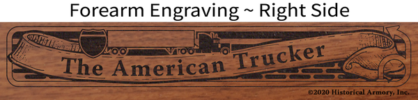 American Trucker Limited Edition Engraved Rifle