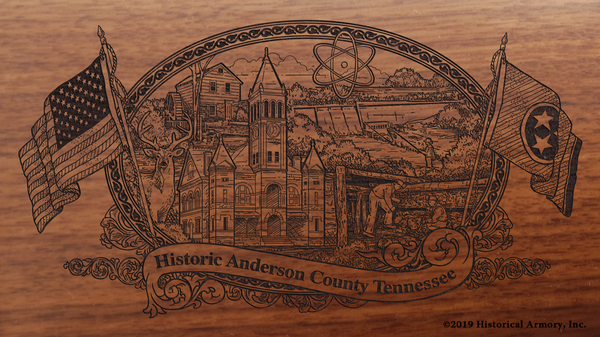 Anderson County Tennessee Engraved Rifle