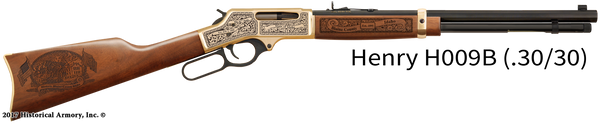 Blaine County Idaho Engraved Rifle