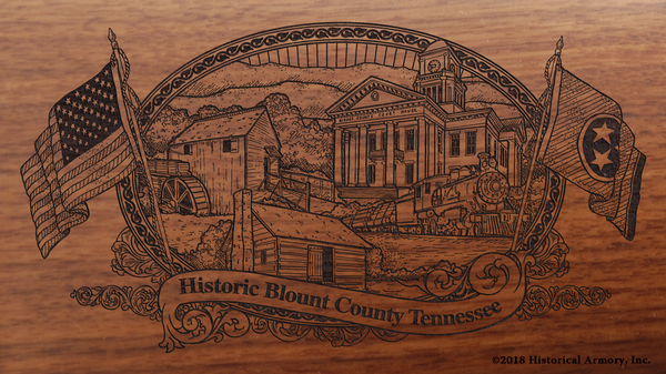 Blount County Tennessee Engraved Rifle