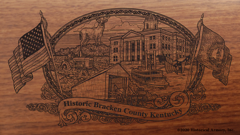 Bracken County Kentucky Engraved Rifle
