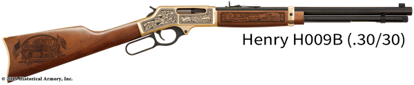 Carbon County Utah Engraved Rifle