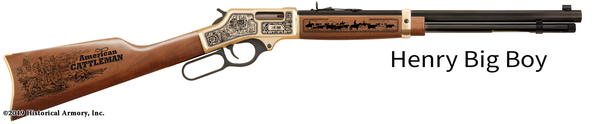 American Cattleman Limited Edition Engraved Rifle