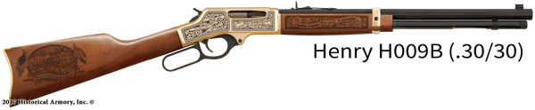 Chaffee County Colorado Engraved Rifle