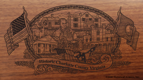 Charlotte County Virginia Engraved Rifle