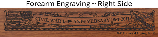 Civil War 150th Anniversary 1861 - Louisiana Limited Edition