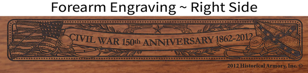Civil War 150th Anniversary 1862 - Louisiana Limited Edition