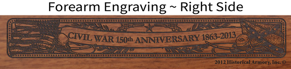 Civil War 150th Anniversary 1863-Alabama Limited Edition