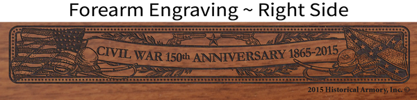 Civil War 150th Anniversary 1865 - Mississippi Limited Edition