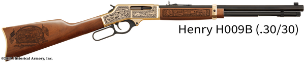 Cloud County Kansas Engraved Rifle