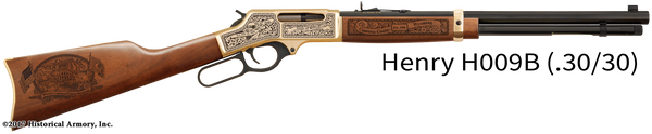 Converse County Wyoming Engraved Rifle