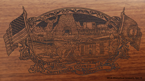 Crittenden County Kentucky Engraved Rifle