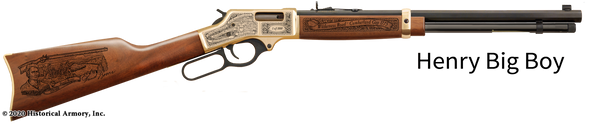 Daniel Boone Limited Edition Engraved Rifle