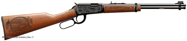 delaware county oklahoma engraved rifle h001