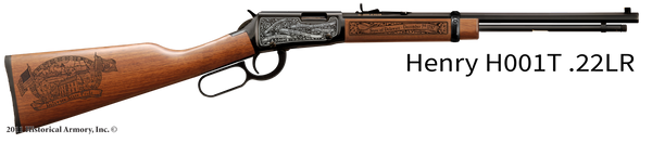 Delaware State Pride Engraved Rifle