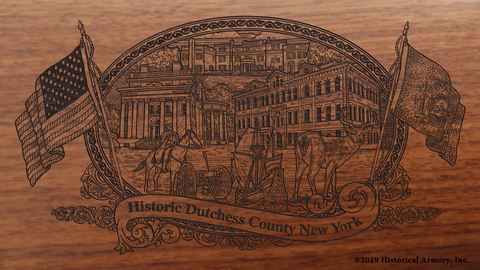 Dutchess County New York Engraved Rifle