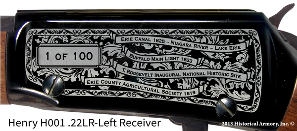 Erie County New York Engraved Rifle