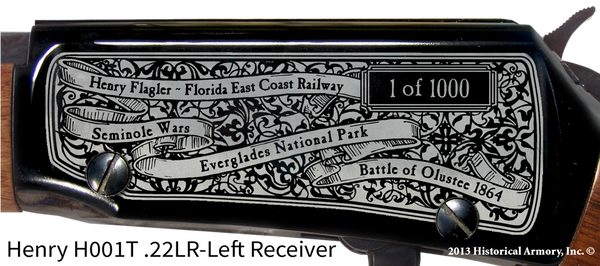 Florida State Pride Engraved Rifle