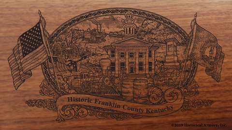 Franklin County Kentucky Engraved Rifle