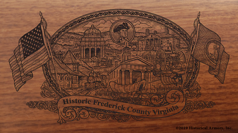 Frederick County Virginia Engraved Rifle