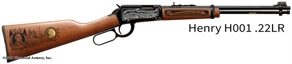George Washington Limited Edition Engraved Rifle