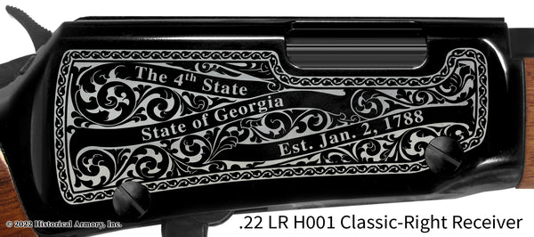 Carroll County Georgia Engraved Rifle