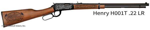 georgia state engraved rifle h001t