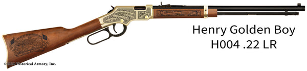 georgia state engraved rifle h004