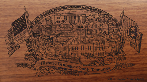 Grainger County Tennessee Engraved Rifle