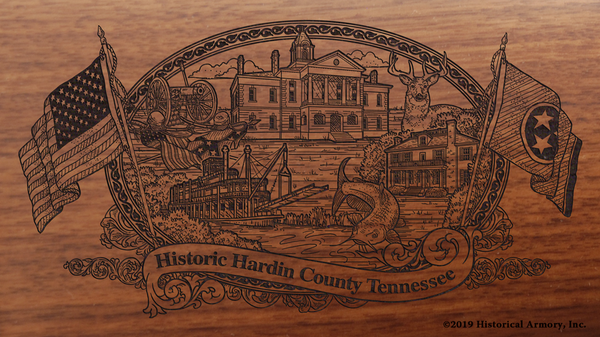 Hardin County Tennessee Engraved Rifle