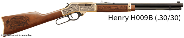 Harlan County Kentucky Engraved Rifle