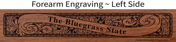 Graves County Kentucky Engraved Rifle