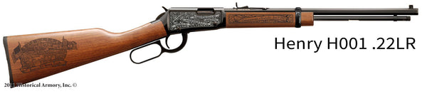 Kentucky State Pride Engraved Rifle
