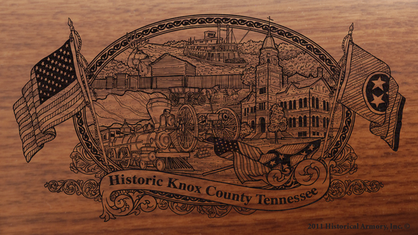 Knox County Tennessee Engraved Rifle