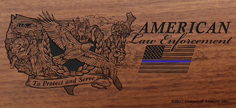 American Law Enforcement Limited Edition Engraved Rifle