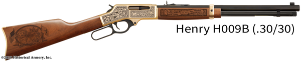 Lea County New Mexico Engraved Rifle