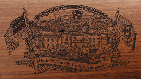 Lincoln County Tennessee Engraved Rifle