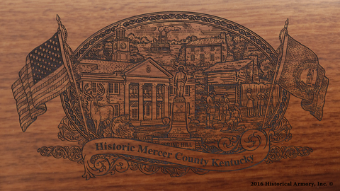 Mercer County Kentucky Engraved Rifle