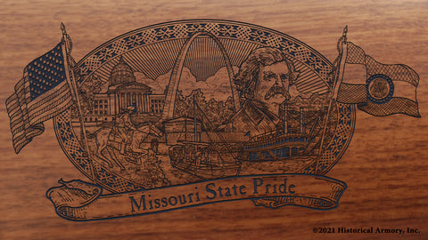 Missouri State Pride Engraved Rifle