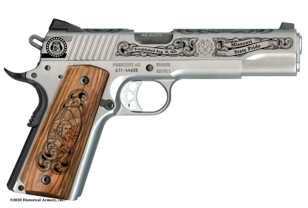 Missouri State Pride Limited Edition Engraved 1911