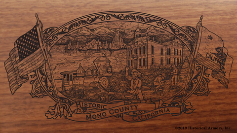 Mono County California Engraved Rifle