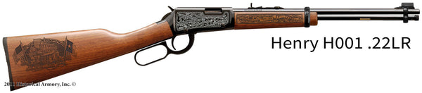 Nacogdoches County Texas Engraved Rifle