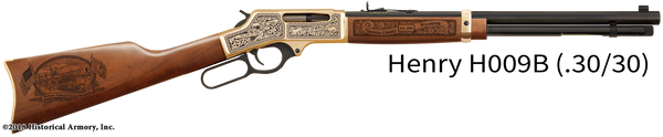 Natrona County Wyoming Engraved Rifle