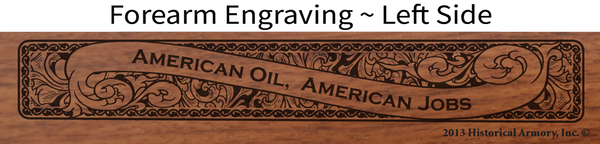 North Dakota State Oil & Gas Limited Edition Engraved Rifle