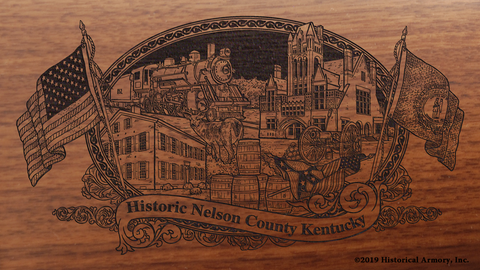 Nelson County Kentucky Engraved Rifle