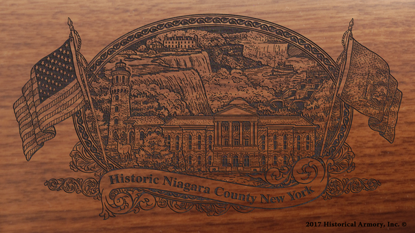 Niagara County New York Engraved Rifle