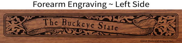 Ohio State Pride Engraved Rifle