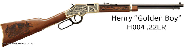 ohio state engraved rifle h004