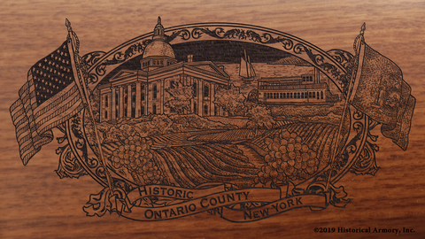 Ontario County New York Engraved Rifle