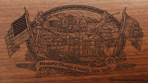 Otsego County New York Engraved Rifle